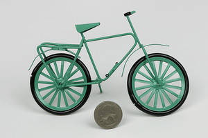 Turquoise Green Bicycle