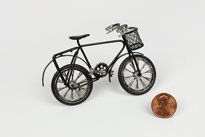 Child's Size Black Bicycle