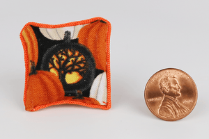 Spooky Tree Jack-O-Lantern Pattern Pillow