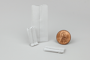 White Paper Bag Set