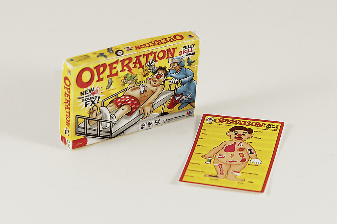 Operation Game Box - 1