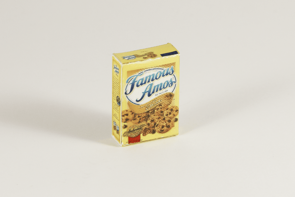 Box of Famous Amos Cookies - 1