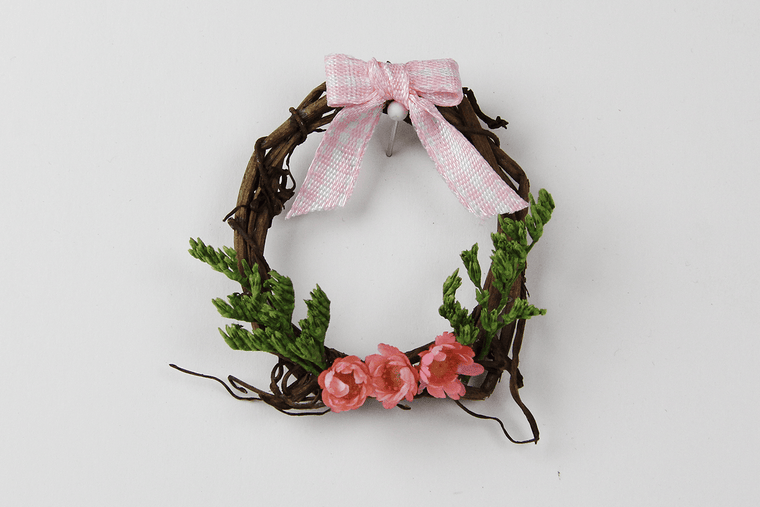 Grape Vine Wreath (Pink)