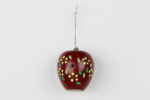 "Bird House - Handpainted ""Apple"""