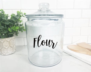Farmhouse Canister Decals