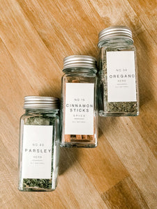 Farmhouse Spice Labels