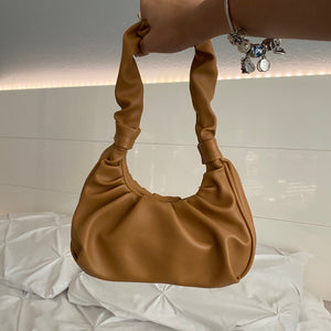 stella shoulder bag - camel