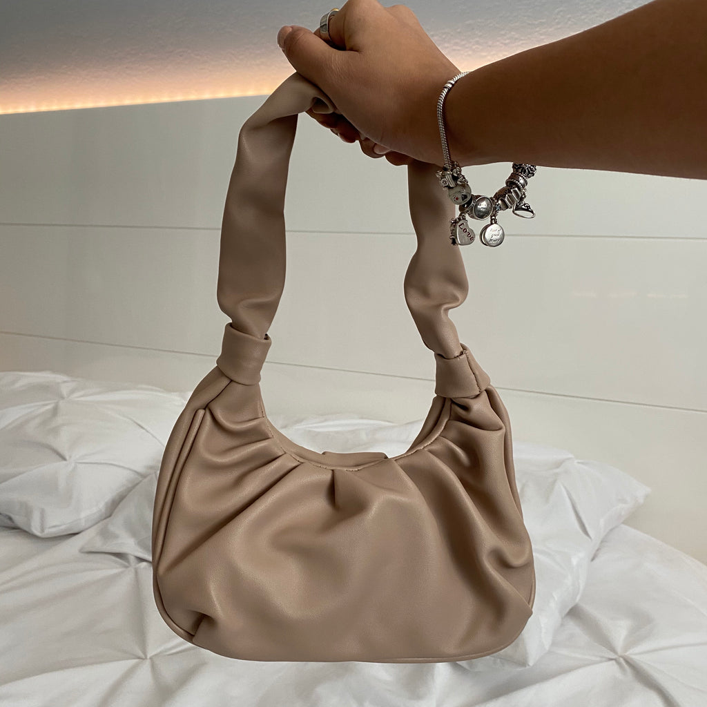 stella shoulder bag - taupe