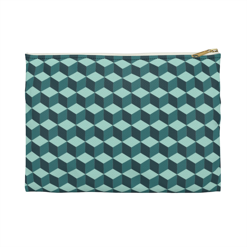 Cubic Jade Pouch