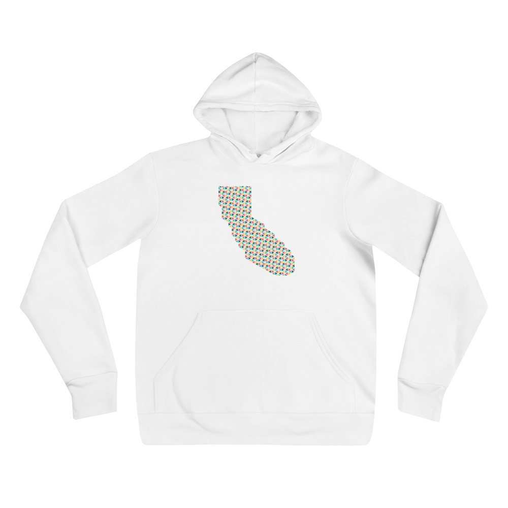 Geometric California Love Unisex Hoodie