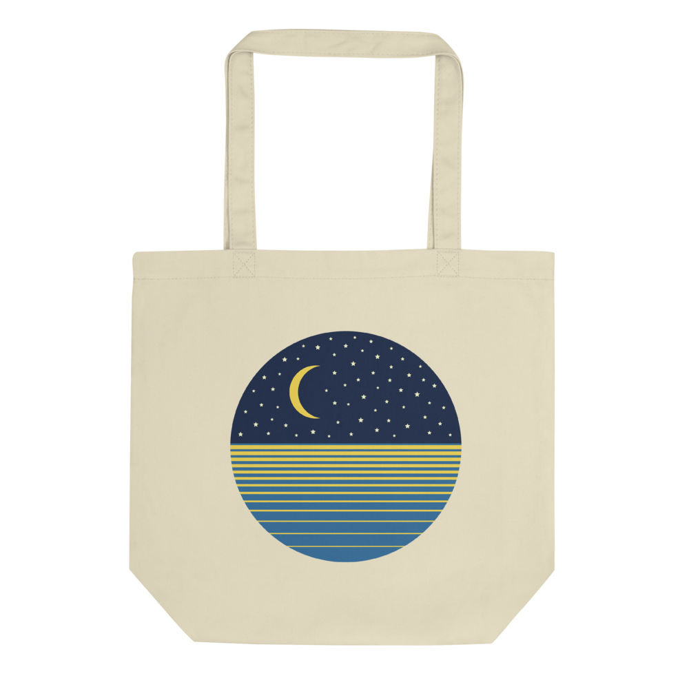 Ocean Moon Eco Tote Bag