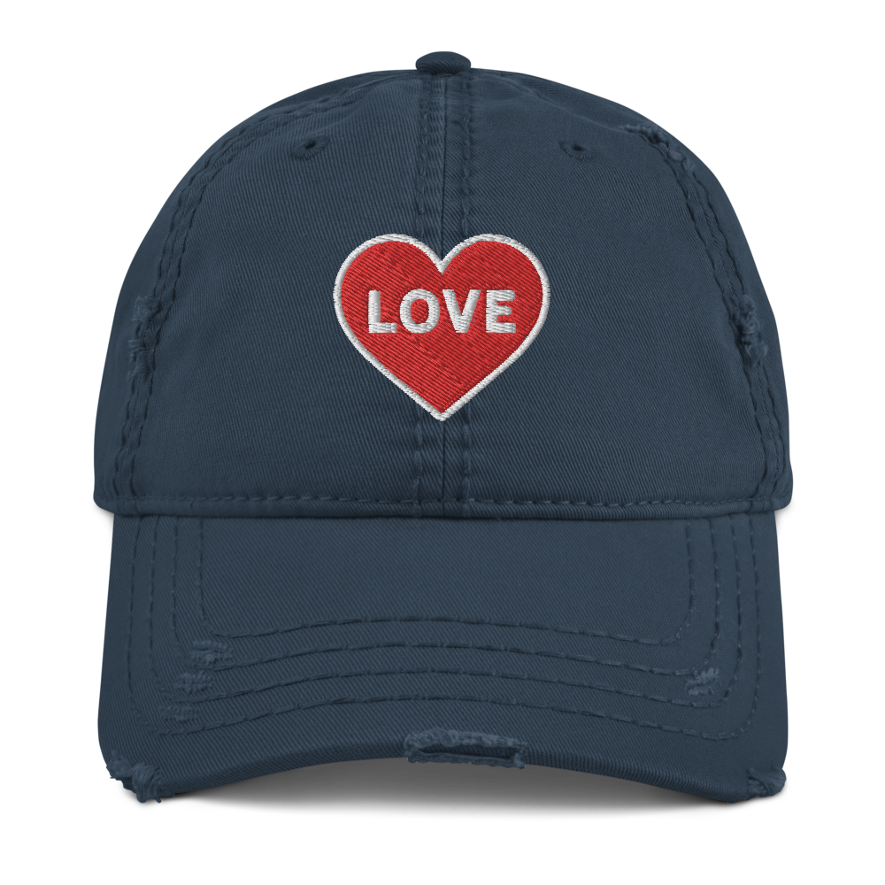 Love Women's Distressed Hat