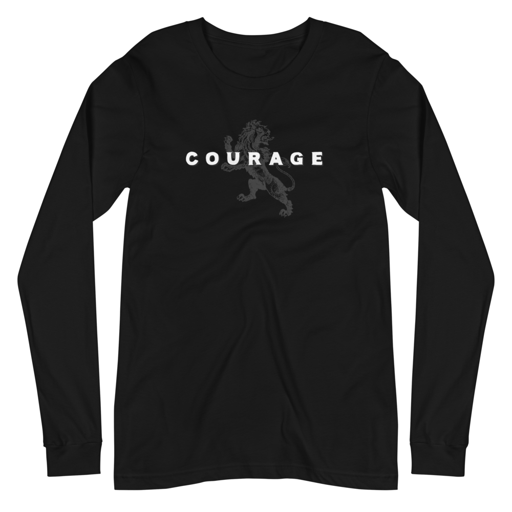 Courage Men's Long Sleeve T-Shirt