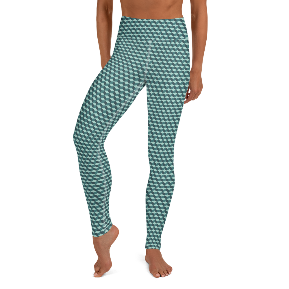 Cubic Jade Yoga Leggings