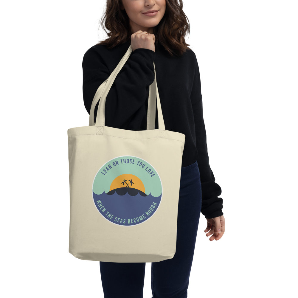 Lean On Those You Love Eco Tote Bag