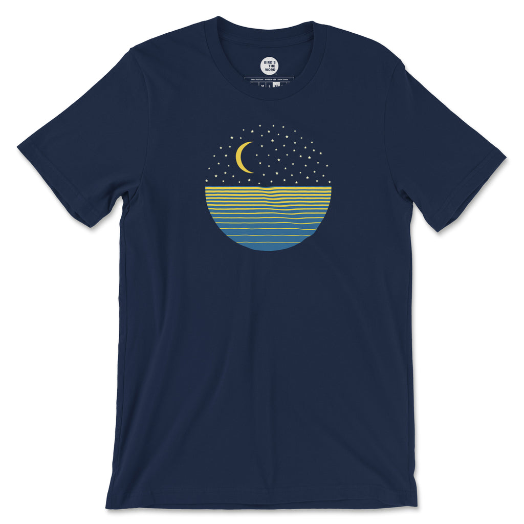 Ocean Moon Men's Short-Sleeve T-Shirt