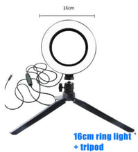 Carregar imagem no visualizador da galeria, Ring Light de LED
