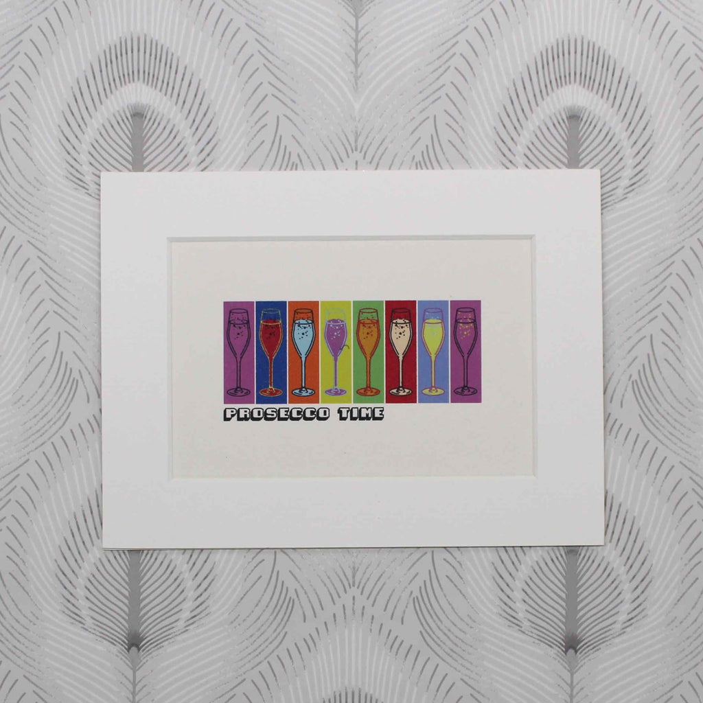 Prosecco Pop friends print