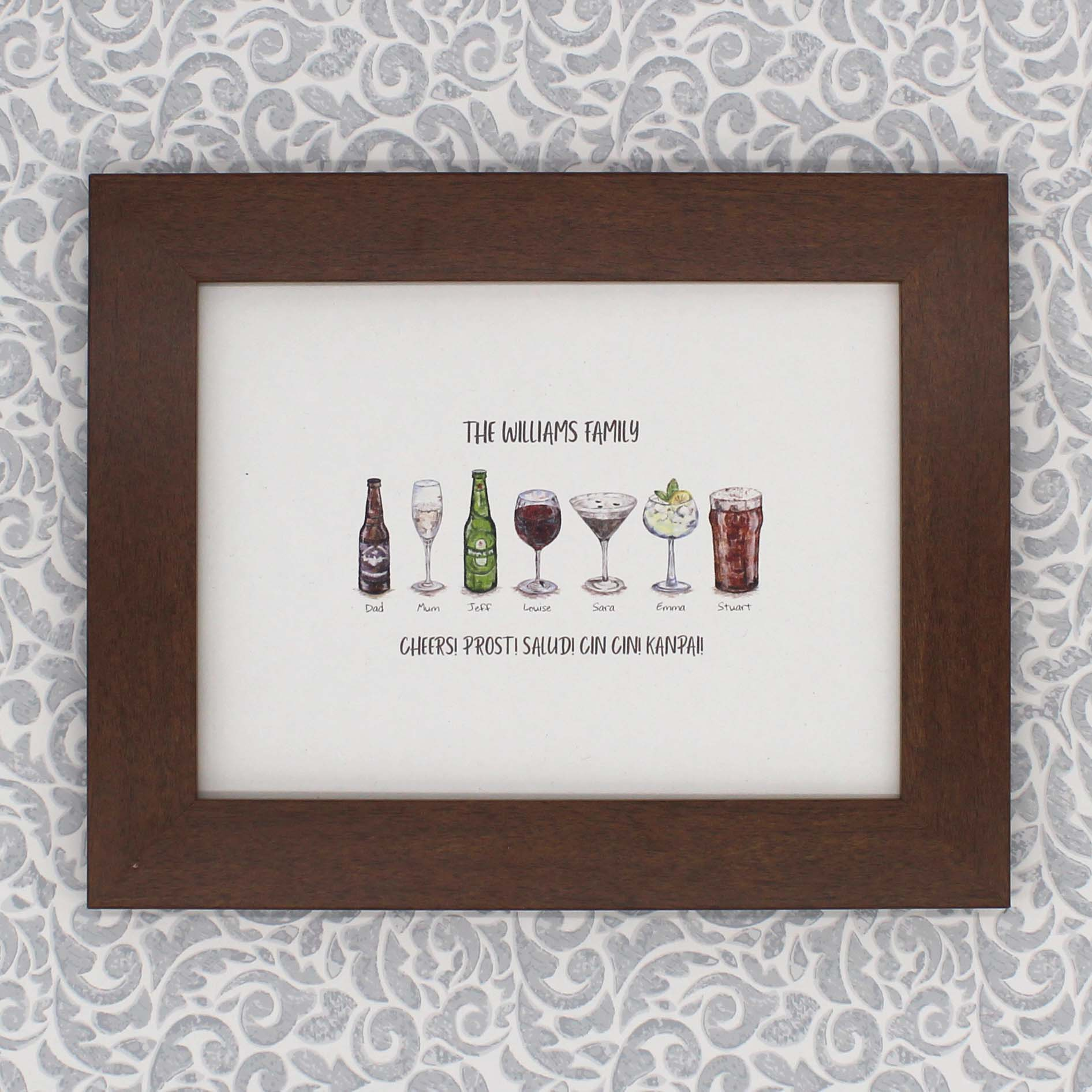 Sentiment Personalised Print