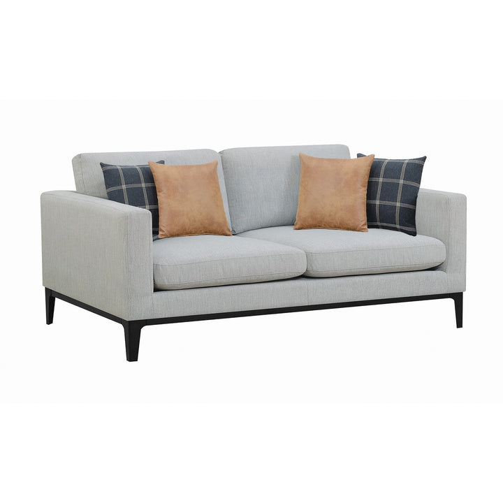 Modern Sofa Two-Seat Sofa in Gray - HER Home Design