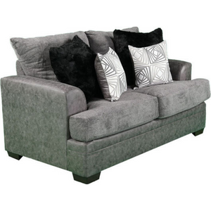 Anikan Loveseat in Graphite