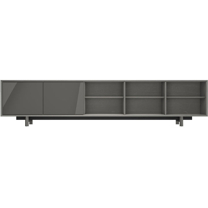 Media Cabinet in Acier Gray - HER Home Design