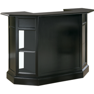 2-Door Bar Unit in Black
