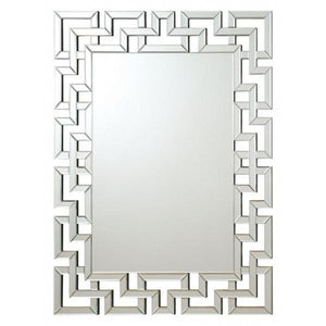 Greek Key Wall Mirror - HER Home Design