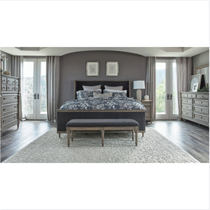 Classic French Gray Bed