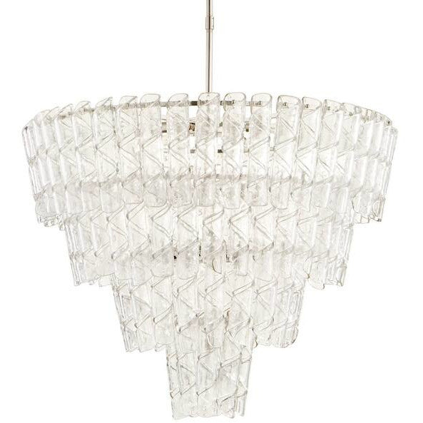 Cannoli Glass Chandelier