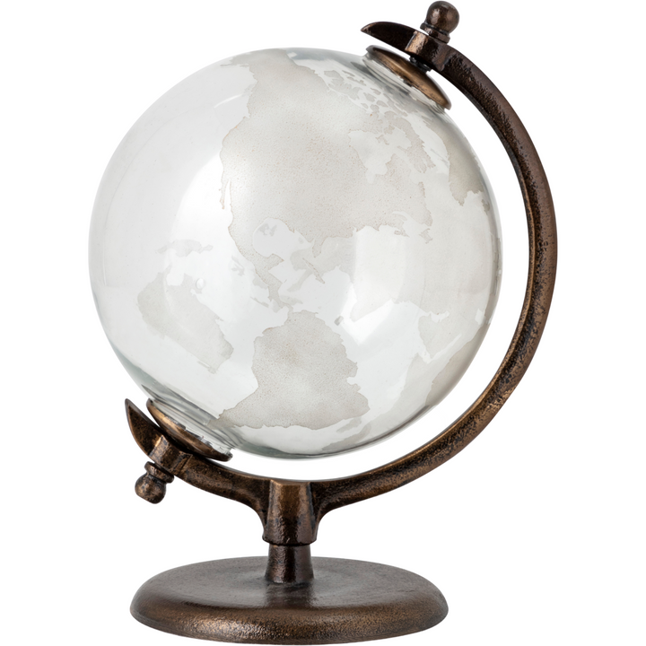 Glass and Metal Globe