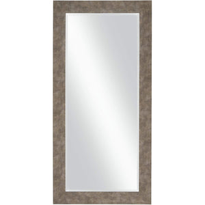 "Old Iron Full Length Leaner Mirror, 65"" x 31"""