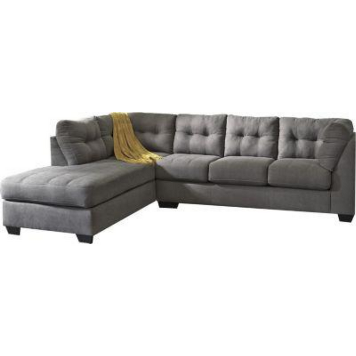 Maier Sectional in Charcoal