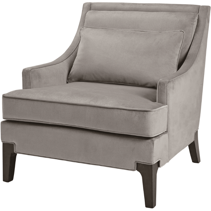 Contemporary Armchair in Grey - HER Home Design