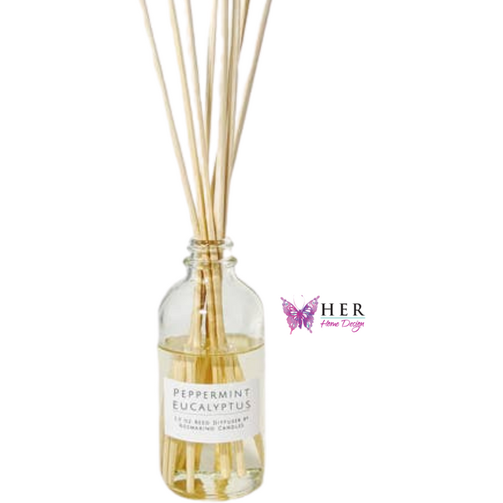 Peppermint Eucalyptus Reed Diffuser - HER Home Design
