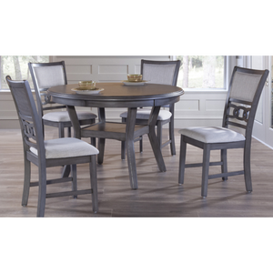 Round Dining Table Set - 5 PC - HER Home Design