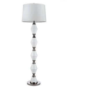 Contemporary Geometric Floor Lamp - HER Home Design