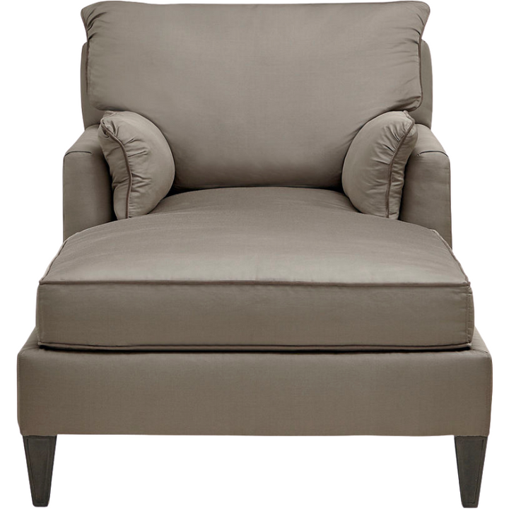 The Tranquility Chaise Lounge Chair in Taupe