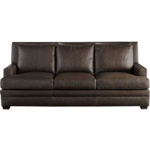 Kipling Leather Sofa in Bronze - HER Home Design
