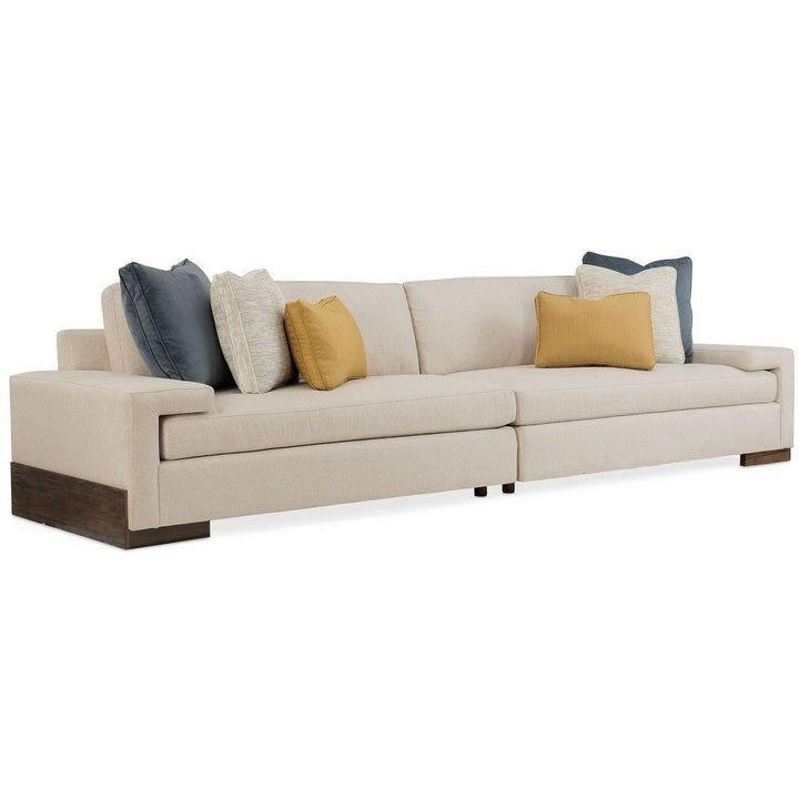 I'm Shelf-ish 2-PC Sectional in Smoked Sable - HER Home Design
