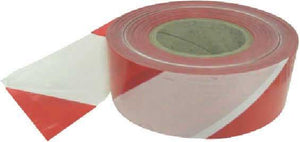 70mm x 500m Red/White Non Adh Tape