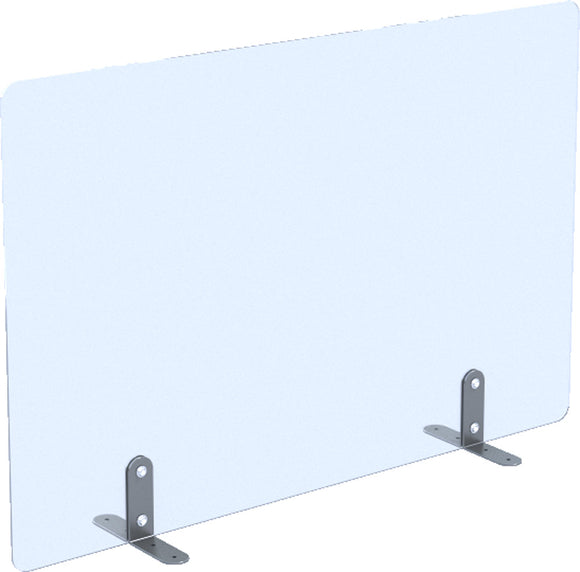 Freestanding Clear Acrylic Screens 660mm High