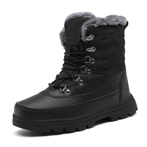 Mishansha Warm Winter Boots Waterproof Outdoor Snow Boot For Men