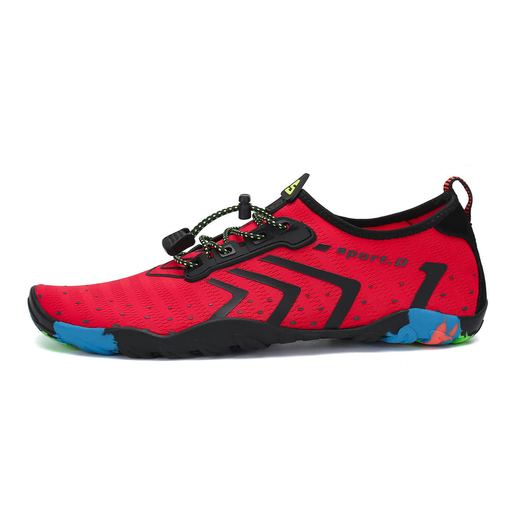 Saguaro Best Mens Water Shoes For Swimming Red