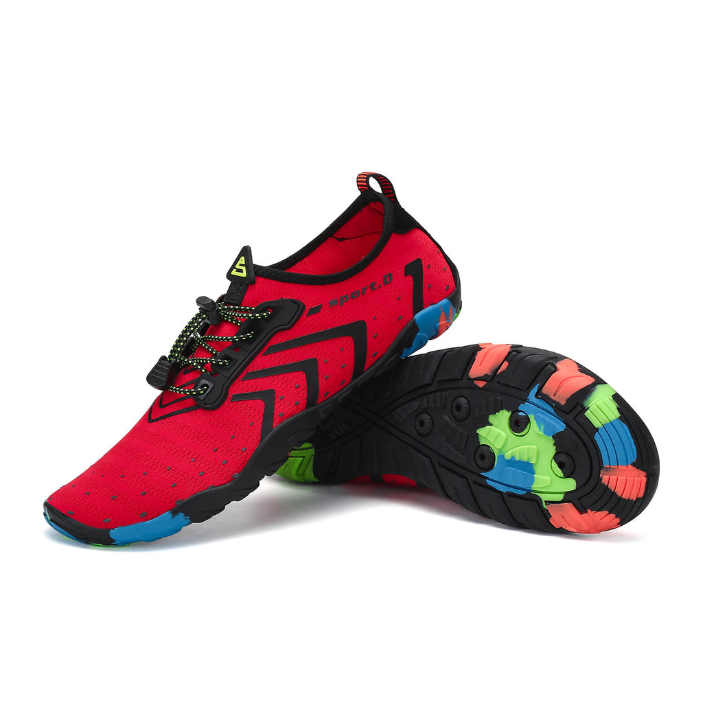 Saguaro Best Mens Water Shoes For Swimming Red 2