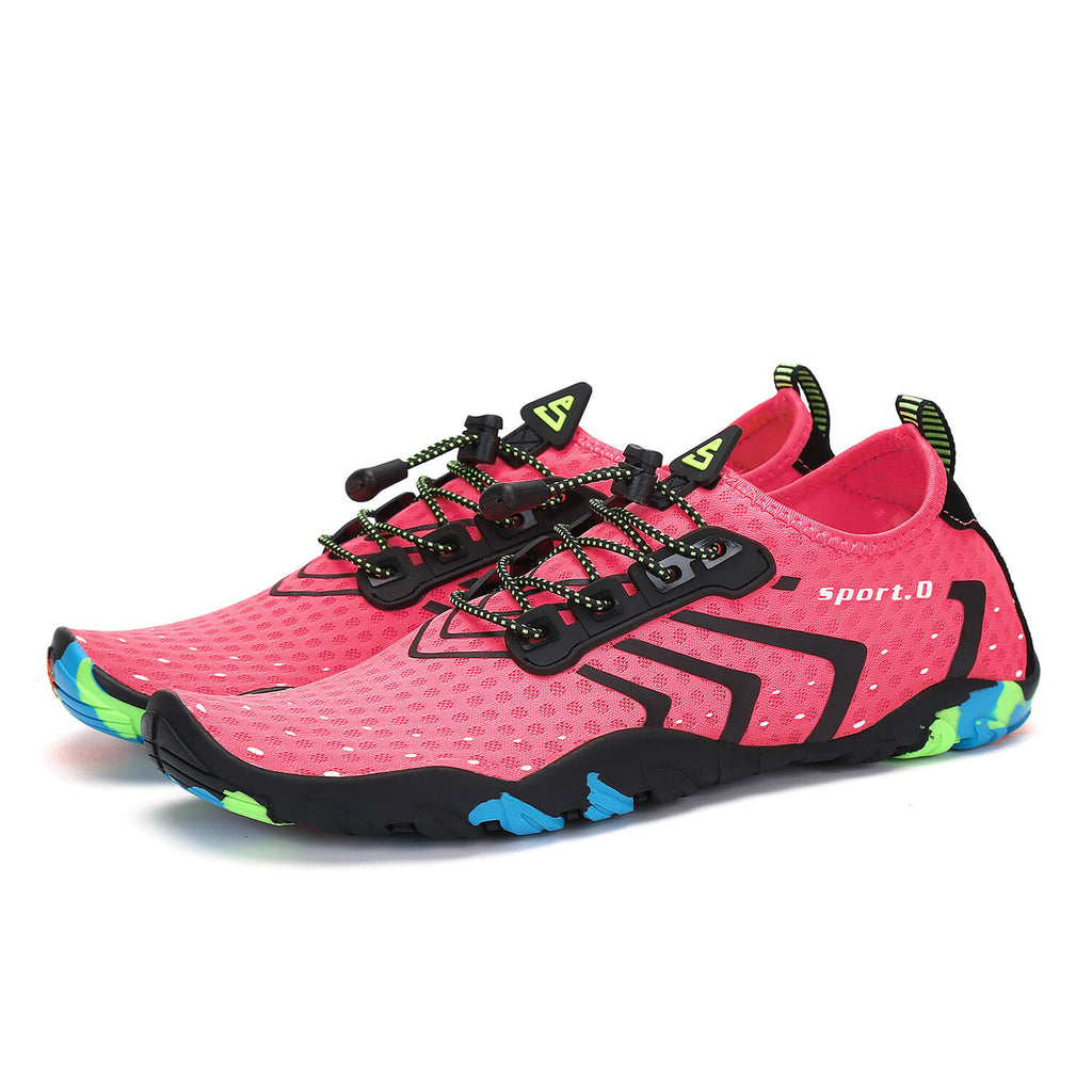 Saguaro Pink Walking Shoes For Women 4