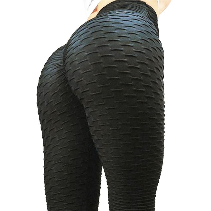 Push Up Leggings - Breathable Polyester - Way Of Health - Way Of Health