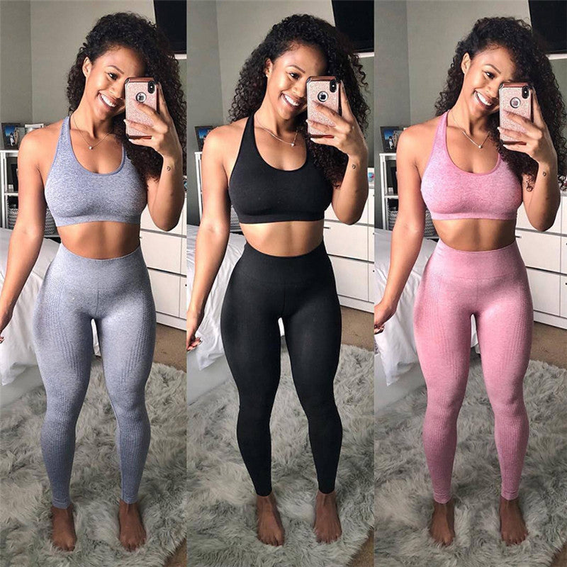 Seamless Push Up Leggings - Way Of Health - Way Of Health