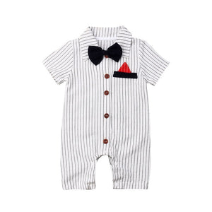 """Mr. Sophisticated"" Romper"