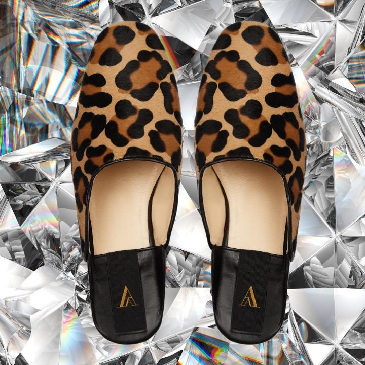 SAANAH | Slippers Odette Pony Leopard